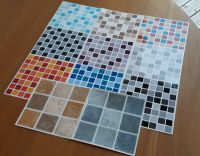 Self Adhesive Mosaic Tile Transfers Stickers Bathroom ...