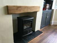 Oak Beam Fascia | Character Oak Fireplace Rustic Reclaimed ...