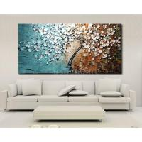 Modern Abstract Art Oil Painting On Canvas Wall Decor ...