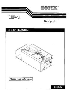 Botex UP-1 1 Channel Dimmer