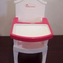 Bitty Baby High Chair Shapes Dining Chairs Walmart | Ebay