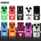 KOKKO Guitar Effect Pedal Overdrive Space Booster Distortion Supa Drive SOS MINI