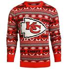 Forever Collectibles NFL Men's Kansas City Chiefs Aztec Print Ugly Sweater