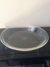 Vintage PYREX #229 9.5 inch (24cm) Pie Plate Fluted--Made ...