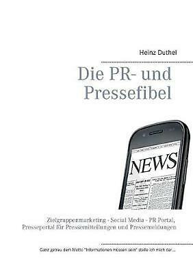 NEW Pr- Und Pressefibel by Heinz Duthel Paperback Book (German) Free Shipping