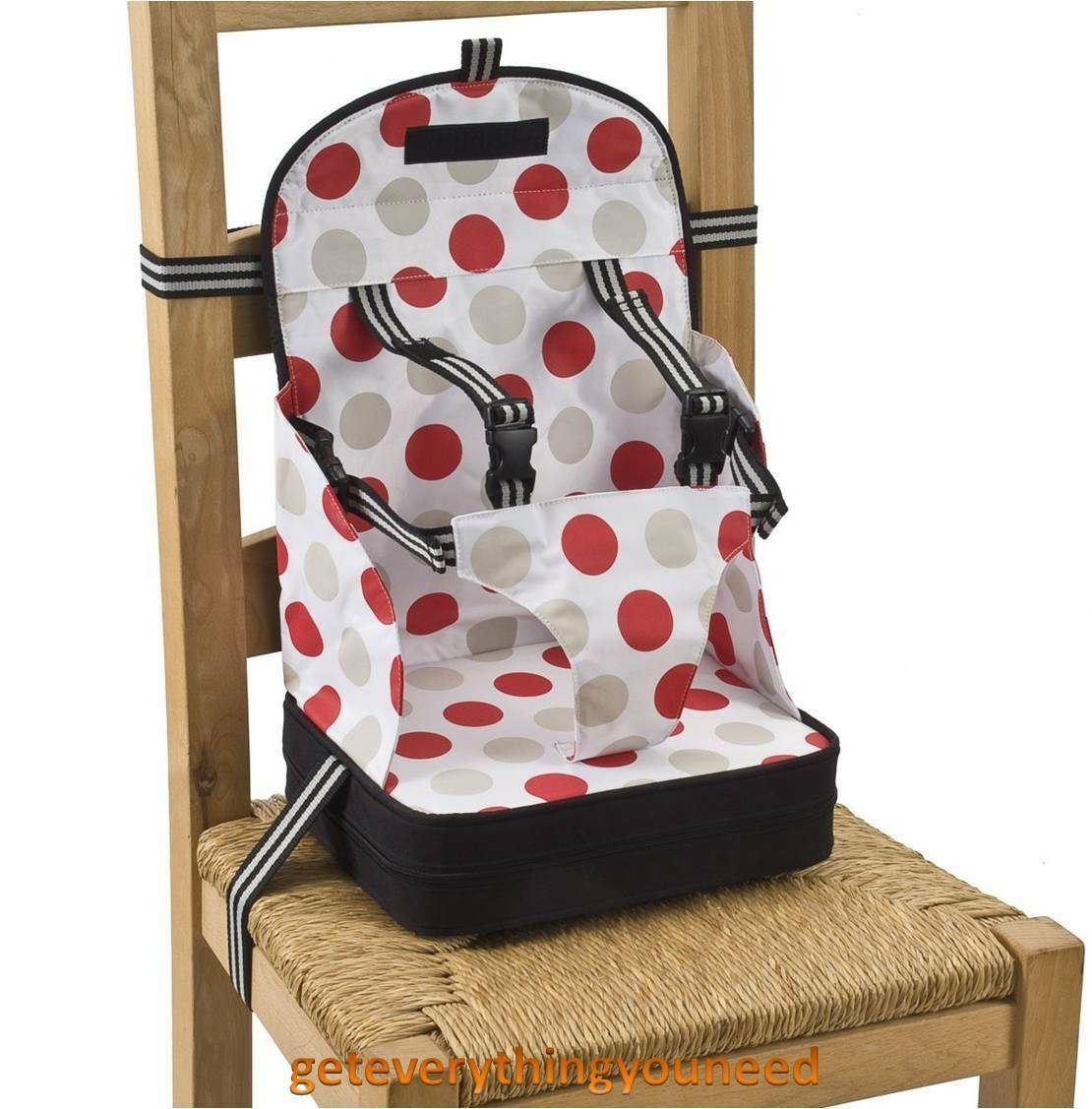 bag high chair dining covers kmart australia booster seat safety room adjustable