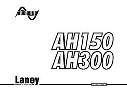 Laney Cub 12r User Manual