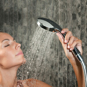 Deluxe 5-Function Handheld Shower Head - Enjoy Relaxing Massages!