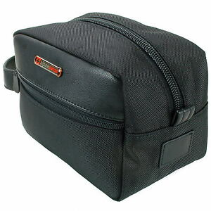Alpine Swiss Hudson Shaving Kitt Dopp Kit Overnight Toiletry Bag Travel Case New