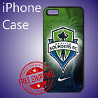 Seattle Sounders FC MLS Soccer Teams Black Case Cover For iPhone #ED