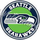 Seattle Seahawks Circle Logo Vinyl Decal / Sticker 5 sizes!!