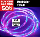 MTech 1M LED Light Up Charger Charging Cable USB Cord for Android Samsung iPhone