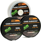 Fox Edges Submerge Camo Unleaded Leadless Leader 10m *All Types*