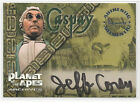 Jeff Corey as Caspay 1999 Inkworks Planet of the Apes Autograph Card Auto #A3