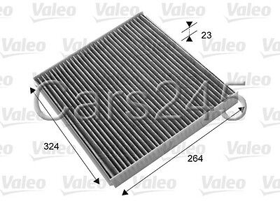 Carbon Style Interior Cabin Air Filter 25740404 for