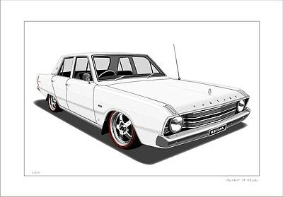 EH HOLDEN SEDAN GMH CLASSIC DRAWING LIMITED EDITION