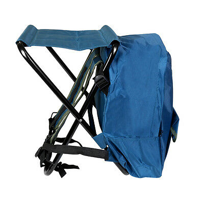 Shakespeare Fishing Rucksack Chair Stool With Backrest