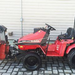 Riding Lawn Mowers In Canada Plot Diagram For The Great Gatsby Honda 5013 4x4 Compact Tractor 5518 5000 With Snow Blower Mower Front Hitch
