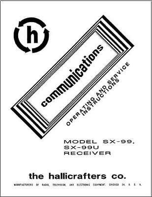 Hallicrafters SX-130 Radio Manual