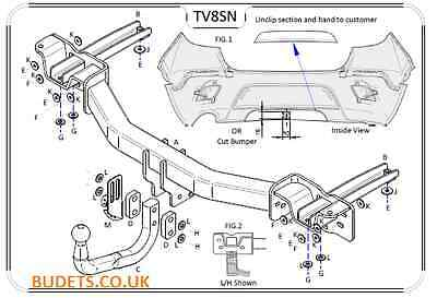 Tow Bar Accessories, Trailers & Towing, Car Accessories