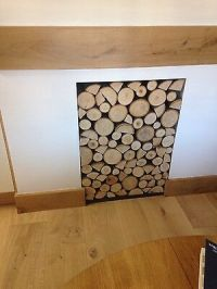 Decorative logs fantastic silver birch poles from the kent ...