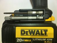 DeWALT BIT HOLDER CLIP ( DUAL ) FITS 20V & 12V MAX DRILL ...