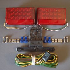 Wiring Diagram For Led Boat Trailer Lights 69 Chevelle Harness Clips Rewire Kit