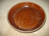 "Antique Pre-WW 1 Pottery 9 1/2"" PIE PLATE Dish Bowl ..."
