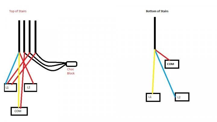 landing light switch wiring diagram