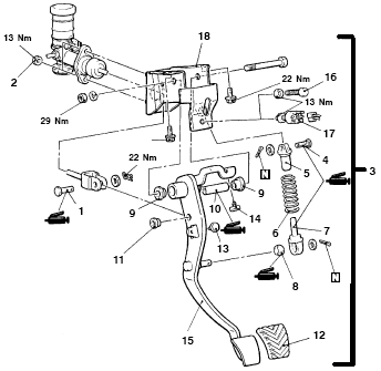 Car Clutch Pedal Diagram : 24 Wiring Diagram Images