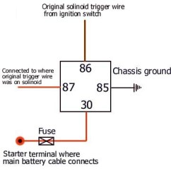Wiring Diagram For 12 Volt Relay Nest 3rd Generation Video Starter Schematic 12v Dc Start 3 Kenmo Lp De