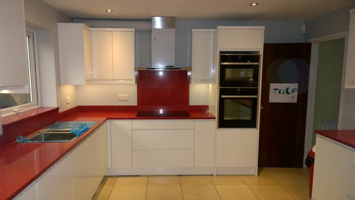 b&q kitchens cheap white kitchen cabinets wickes ikea b q etc page 2 homes gardens and it s nearly finished but these should give you an idea of what we have done