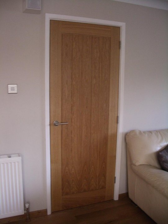 How to stain oak doors white  Page 1  Homes Gardens