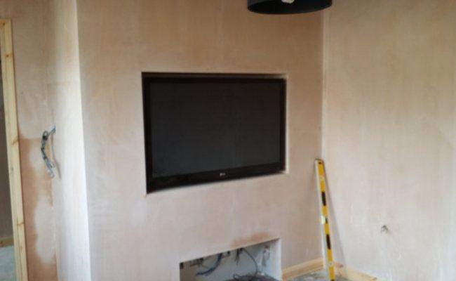 Recess Tv Into Wall Shapeyourminds