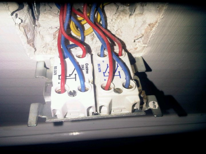 Wiring Double Switch Two Separate Lights