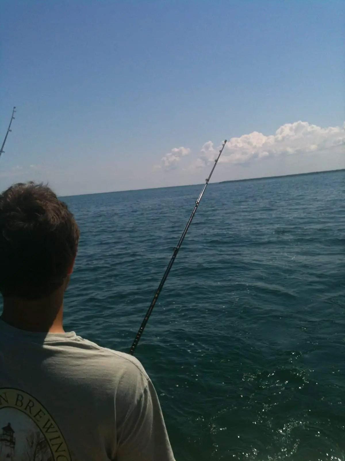Walleye Fishing in Saginaw Bay