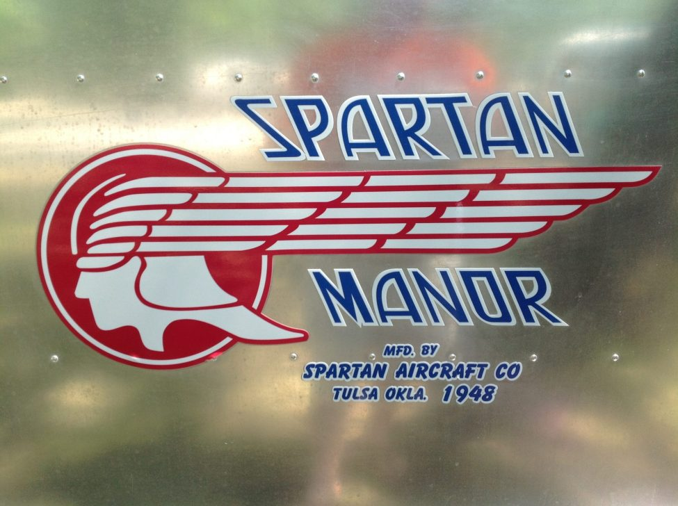 Tin Can Tourists Spartan Manor 1948 Logo