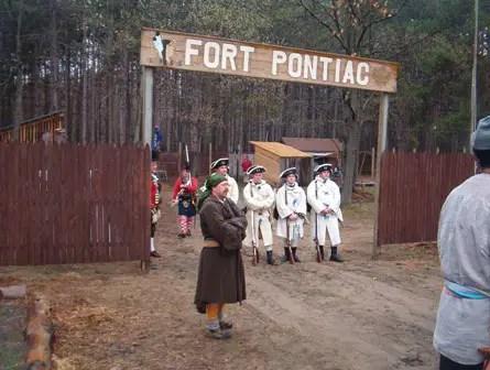 Fort Pontiac Camp Agawam 2012