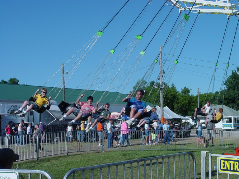 Huron Community Fair - Gibbys Fries