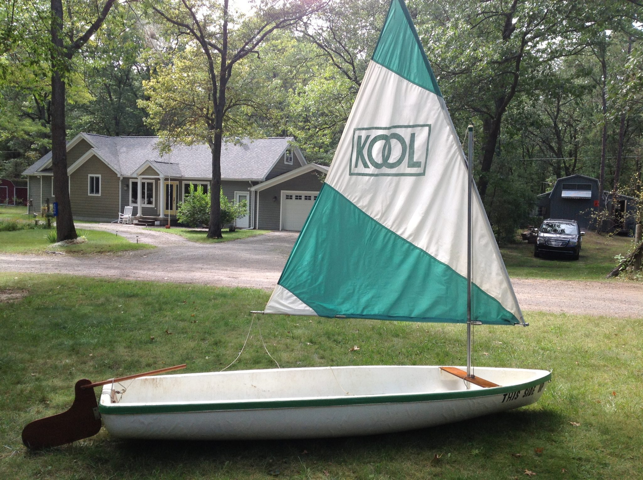 Kool Cigarette Sailboat