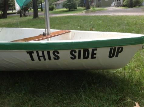 This side up - Kool Sailboat