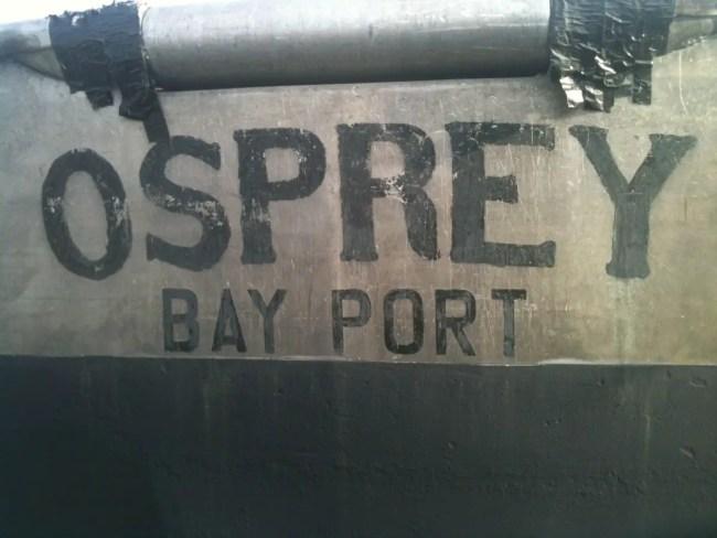 Bayport Fish Company Osprey