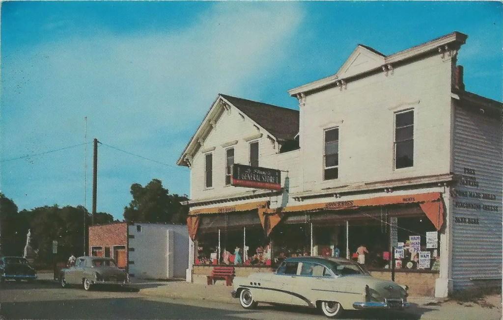 postcard 1950