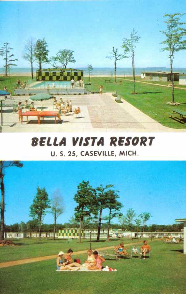 postcard 1957
