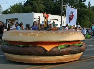 Cheeseburger in Caseville