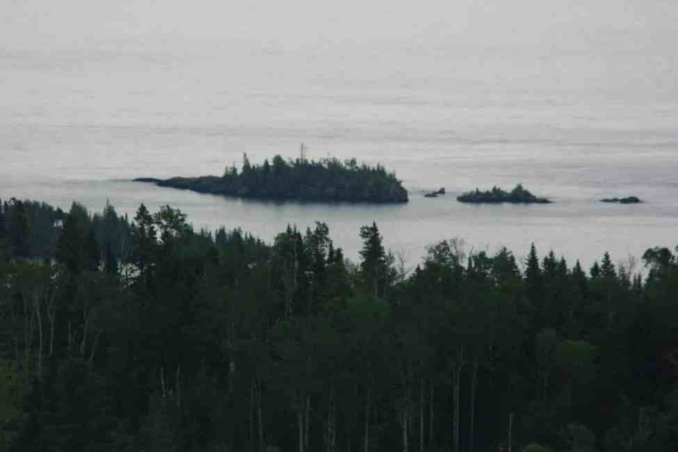 North end of Isle Royale National Park