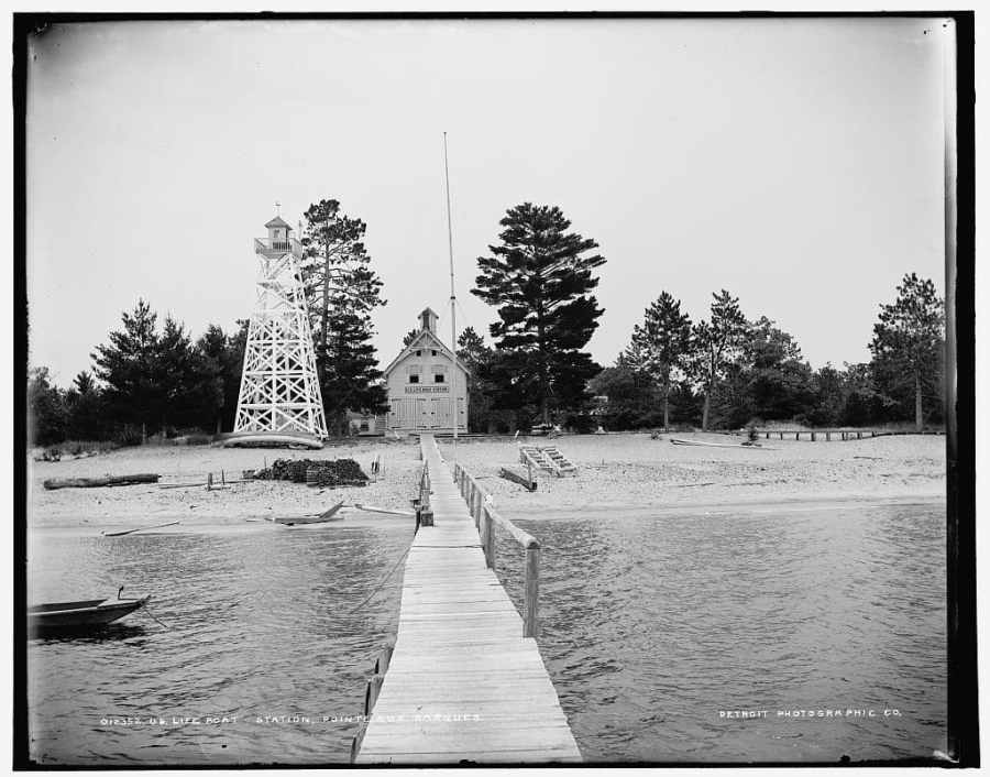 Pointe-Aux-Barques-Life-Boat-Station