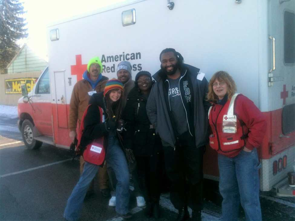 Flint Crisis Red Cross