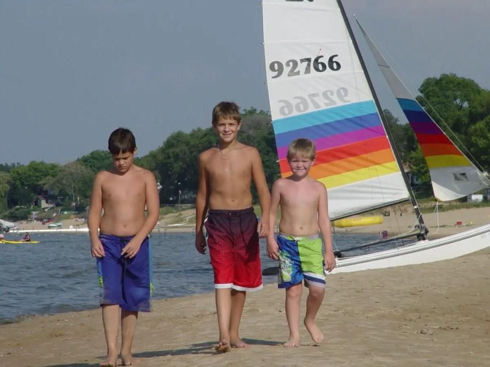 Beach Fun - Michigan Beach Rights