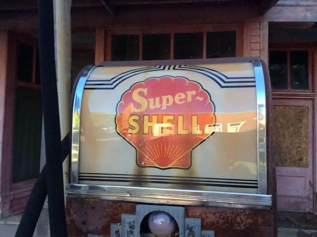 Kilmanagh Shell Gas Pump